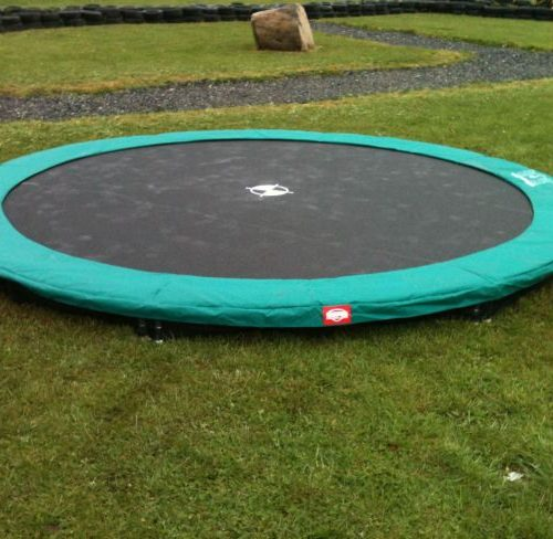 14ft Etan In-Ground Hi-Flyer Round Trampoline.STOCK - GOOD