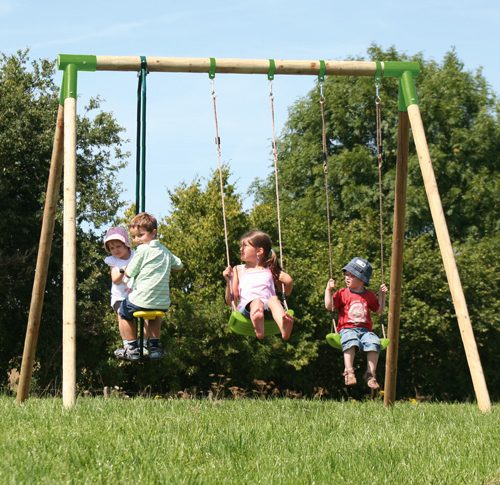 Durlang Salm JE 2950 Wooden Swing Set