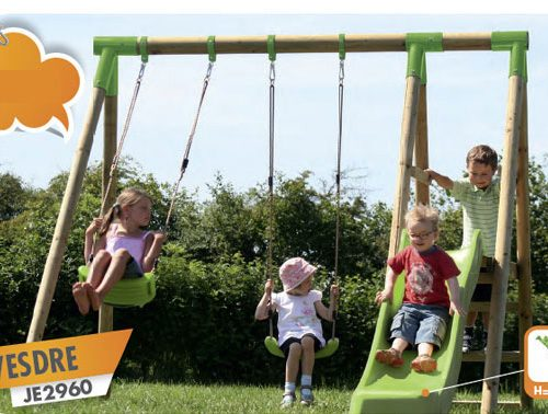 Durlang Vesdre JE 2960 Wooden Swing Set