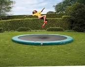 10ft Etan InGround Trampolines