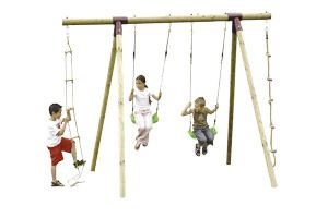 Topwood Wooden Swing Set 15440