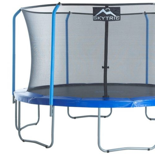 13ft Skytric Round Trampoline & Enclosure ,Free Shipping. IN STOCK END OF JULY