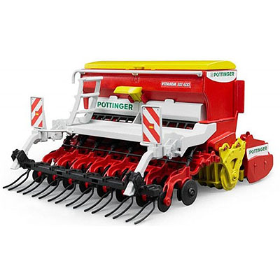 Bruder  Pottinger Vitasem 302 ADDS Harrow-Mounted Seed Drill 02347