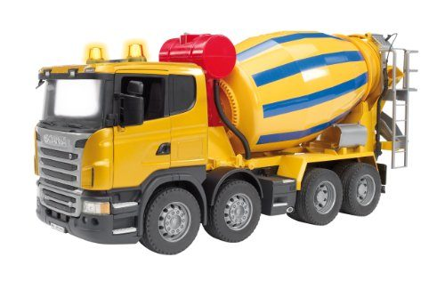 Bruder Scania R Series Cement Mixer Truck 03554