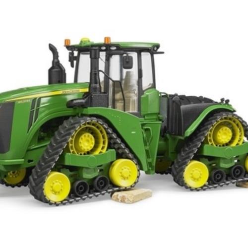 John Deere 9620RX Tractor on Track Belts 04055