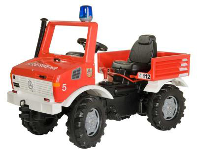 Rolly Unimog Fire Truck with gears & brake 03663