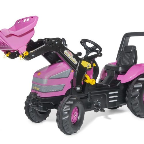 Rolly XTrac Pink Tractor & Loader 04955