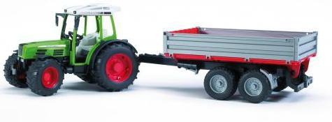 Bruder Fendt 209S Tractor w/ tipping trailer