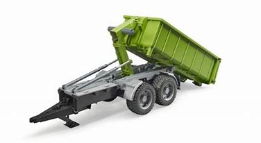 Bruder Roll - Off Container Trailer for Tractors 02035