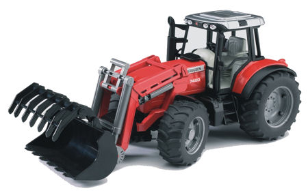 Massey Ferguson 7480 Tractor with Loader 2042