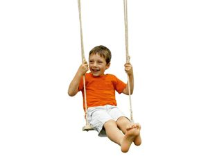 JE3100 Treated Wooden Swing Seat- Children