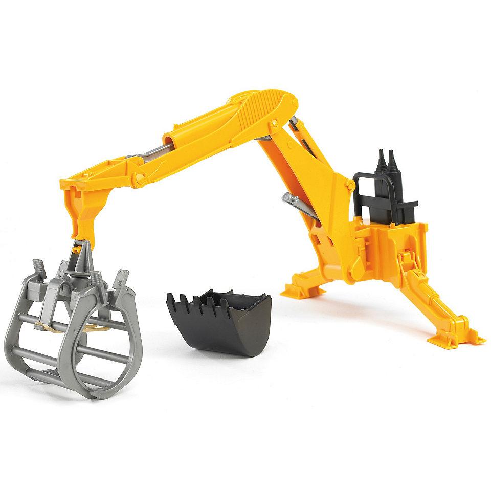 Bruder Rear Hydraulic Arm with Grab 2338