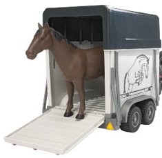 Bruder Trailer with Horse 2028