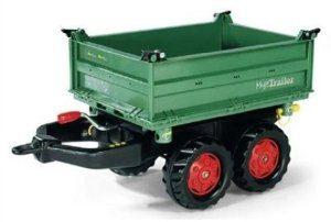 Toy Tractor Rolly John Deere Mega Trailer 12200