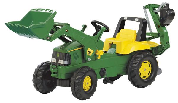 Rolly John Deere Excavator on Wheels 42102