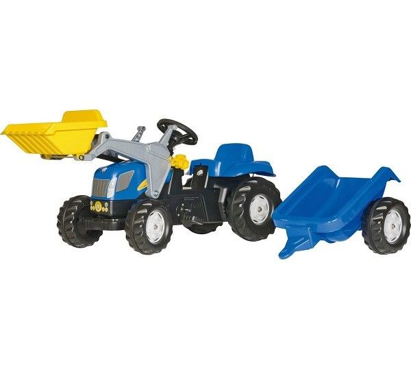 Rolly Kid NH Tractor, Loader & Trailer 2392