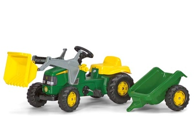 Rolly John Deere Kid Tractor / Loader / Trailer 02311