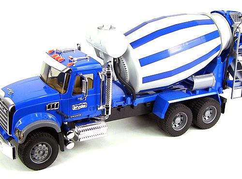 Bruder MACK Granite Cement Mixer Truck 02814