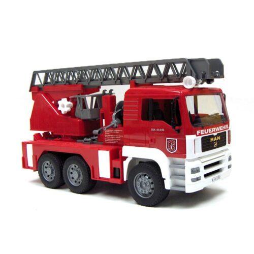 Bruder MAN TGA Fire Engine , Ladder, Water Pump, Light & Sound 02771