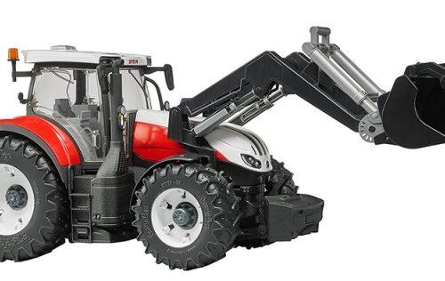 Bruder Steyr 6300 Terrus CVT Tractor and Front Loader 03181