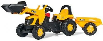 Rolly Kid JCB Tractor , Trailer & Loader 02383