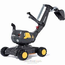 Farm Toy Rolly Digger Black-Volvo 42115