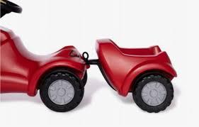 Rolly Minitrac Trailer Red 12208