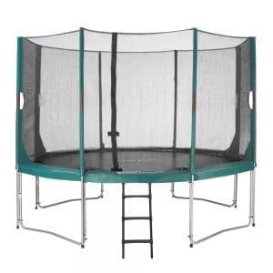 12ft Etan Hi-Flyer Round Trampoline, Safety Enclosure & Ladder. IN STOCK