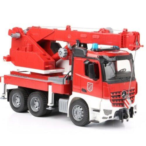 Bruder Mercedes Benz Arocs Fire Engine with Crane Truck 03675