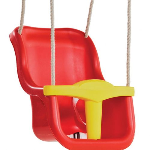 JE 3180 Baby Seat Luxe - Red, Free Delivery