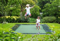 Etan Rectangular In-Ground Trampoline 7 x 9 ft  ( 310 x 232 cm). IN STOCK END OF JUNE