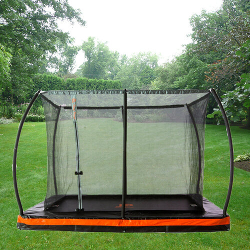 Etan In-Ground Rectangular  Premium Gold Trampoline & Safety Enclosure 7.5 x 10 ft. IN STOCK END OF JULY