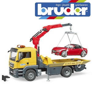 Bruder MAN TGS Tow Truck / Roadster & L+S Module 03750