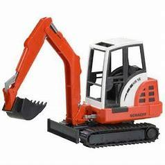 Bruder Schaffe Mini Excavator 02432