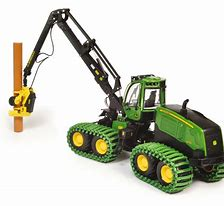 Bruder John Deere 1270G Harvester with Trunk 02135