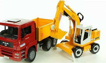 Bruder MAN TGA Construction Truck & Excavator 02751