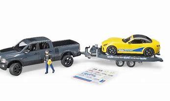 Bruder RAM 2500 Wagon & Racing Team 02504
