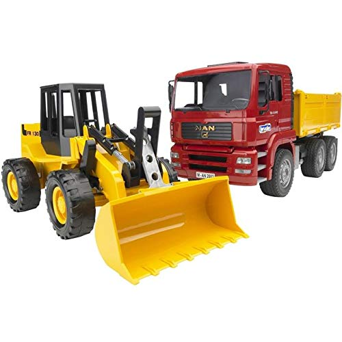 Bruder MAN TGA Construction Truck, Road Loader 02752