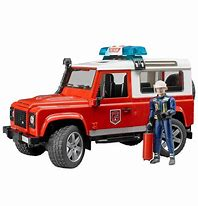 Bruder Land Rover Station Wagon Fire Vehicle 02596