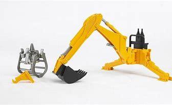 Bruder Rear Hydraulic Arm with Grab 02338