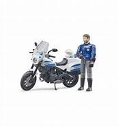 Bruder Bworld Police Motorbike & Policeman B62731