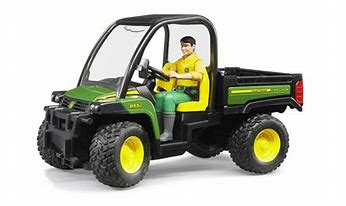 Bruder John Deere Gator  XUV 855D with Driver 02490 In Stock Until 14/11/20
