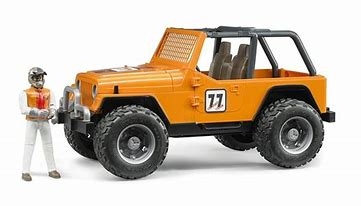 Bruder Jeep Cross-Country Racer Orange 02542
