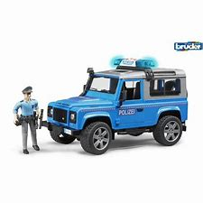 Bruder Land Rover Station Wagon Police Vehicle 02597