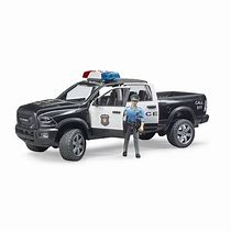 Bruder RAM 2500 Police Truck and Policeman 02505