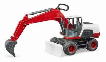 Bruder Wheel Excavator 03411  OUT OF STOCK