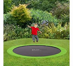 8ft Premium Gold In Ground Heavy Duty Trampoline